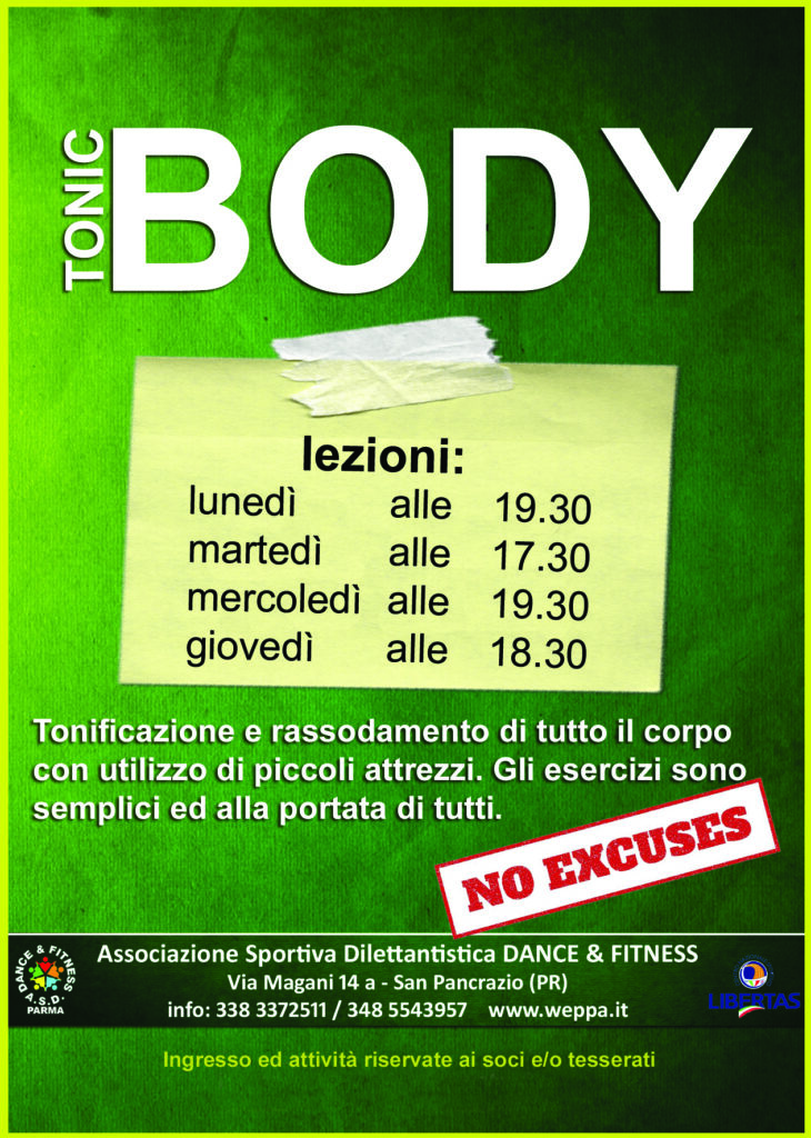 ASD Dance & Fitness di San Pancrazio - Body Tonic